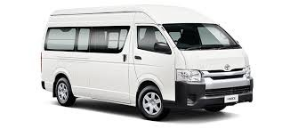 "Toyota Sea Lion is Toyota's first front cab model, its name is composed of ""Hi (high)"" - high performance and ""Ace"" - ace. ... The perfect new HIACE with outstanding quality"