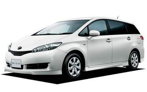 Toyota Wish or same level SUV